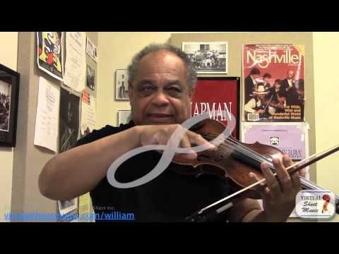 Discovering Figure Eights on the Violin