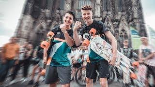 Longboard Tour 2019 bis ans Meer |RaceTour Tag 1