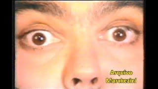 Intervalo do nosso querido Domingão do Faustão, exibido pela Globo em 1991.