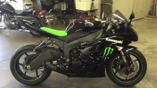 2. 2009 Kawasaki ninja zx6r monster