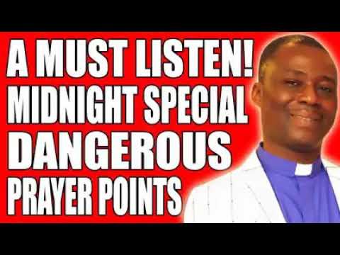 DR D.K OLUKOYA 2020 MIDNIGHT SPECIAL DANGEROUS PRAYERS POINT