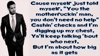 Video All Me - Drake Ft 2 Chainz & Big Sean (Lyrics) MP3, 3GP, MP4, WEBM, AVI, FLV Agustus 2018