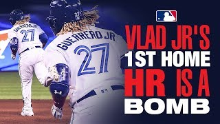 Vlad Jr's First Home Homer