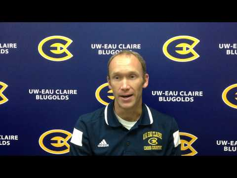 Dan Schwamberger Previews Oct. 3, 2014 Blugold Cross Country Invitational