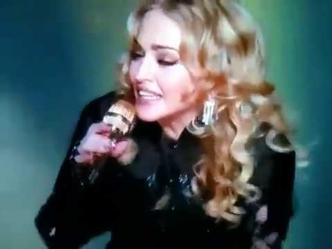 Madonna, wardrobe or hair malfunction? Superbowl XVLI