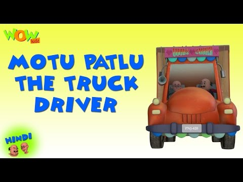 Motu Patlu The Truck Driver - Motu Patlu Hindi - ENGLISH, SPANISH & FRENCH SUBTITLES! -Nickelodeon