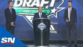 Gary Bettman Attempts To Stop Booing At NHL Draft By Bringing Out Henrik & Daniel Sedin by Sportsnet Canada