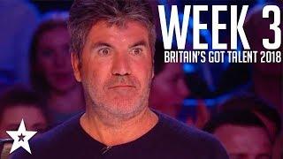 Video Britain's Got Talent 2018 | WEEK 3 | Auditions | Got Talent Global MP3, 3GP, MP4, WEBM, AVI, FLV September 2018