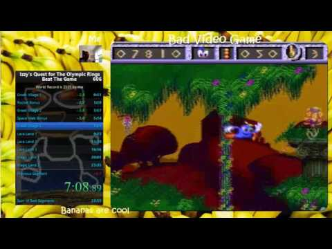 Izzy's Quest for Olympic Rings (SNES) 22:55