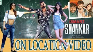 iSmart Shankar On Location Video||iSmart Shankar Making Video||RaPo||Niddhi Agerwa||DW