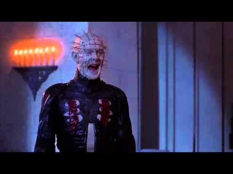 Cult Horror Movie Scene N°5 - Hellraiser III: Hell on Earth (1992) - Pinhead goes to church