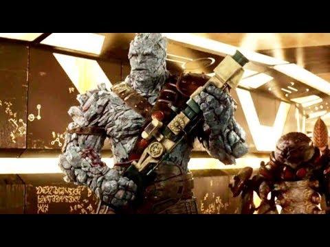 Thor: Ragnarok Movie Clip | Korg & The Flying  Hammer (2017) HD