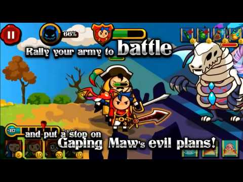 Video of Wizard & Dragon Defense