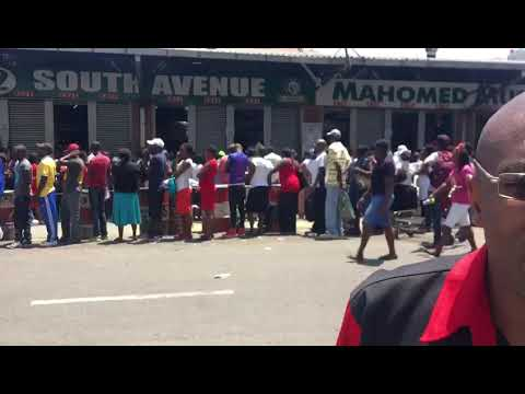 Chaos In Zimbabwe As Queues For Cooking Oil