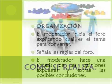EL FORO.(Diapositiva)
