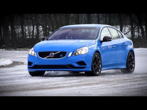 volvo - They drive a car from Sweden to the UK to avoid the snow. And it snows in the UK. We got to play in it though, and that cool air probably made it good for at...