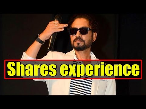 Irrfan Khan Shares How Working In Bollywood And Ho