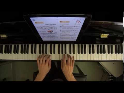 Faber Piano Adventures Technique Artistry Book Level 4 No.18 Scale Toccata in G (P.20)