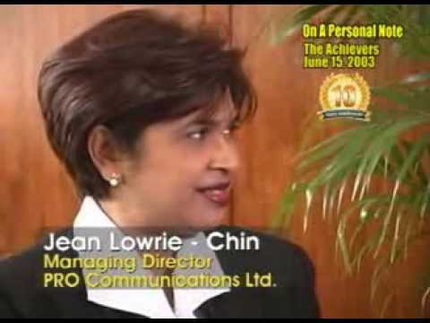 The Achievers with Jean Lowrie-Chin - June 15, 2003