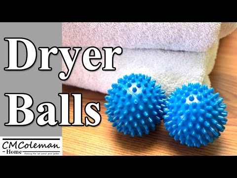 Using Laundry Dryer Balls, Do they really work?