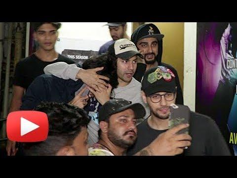 Varun Dhawan, Sidharth Malhotra, Arjun Kapoor Watc