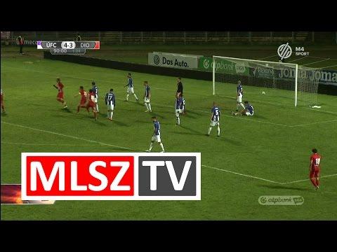 13. forduló:  Újpest - DVTK 4-4 (2-1)