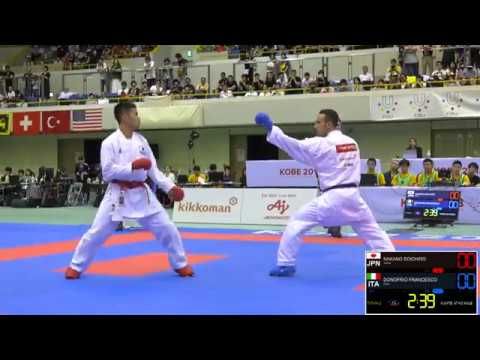 Final. Male Kumite -67kg. 2018 Fisu World University Karate Championships