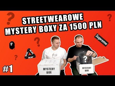 STREETWEAROWE MYSTERY BOXY ZA 1500 PLN | #1 | ButGra | Czy będzie Supreme?
