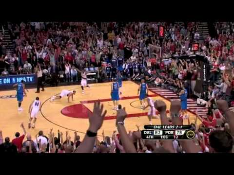 Game 4: Brandon Roy hits a three pointer plus one