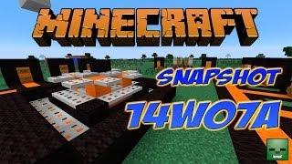 Minecraft 1.8 - Snapshot 14w07a: Iron Trapdoor (Y muchas cosas para Mapmakers)