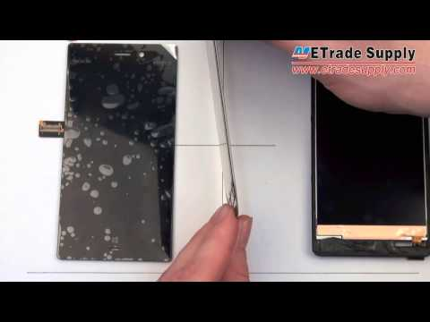 etradesupply - Buy the parts at http://www.etradesupply.com/oem-nokia-lumia-928-lcd-screen-and-digitizer-assembly.html See the differences between Nokia Lumia 928 LCD scree...