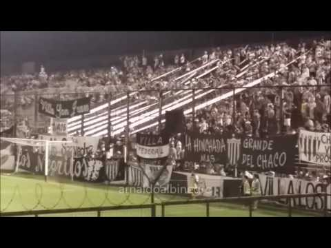Hinchada Chaco For ever vs Guaraní - Los Negritos - Chaco For Ever