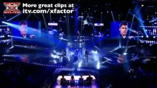 Aiden Grimshaw sings Diamonds are Forever - The X Factor Live show 3 - itv.com/xfactor