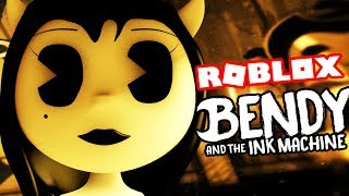 PLAY AS ALICE ANGEL! || Roblox Bendy and the Ink Machine (NEW Bendy and the Ink Machine Character)