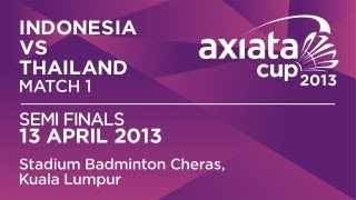 Axiatacup 2013     vs Lindaweni Fanetri () 