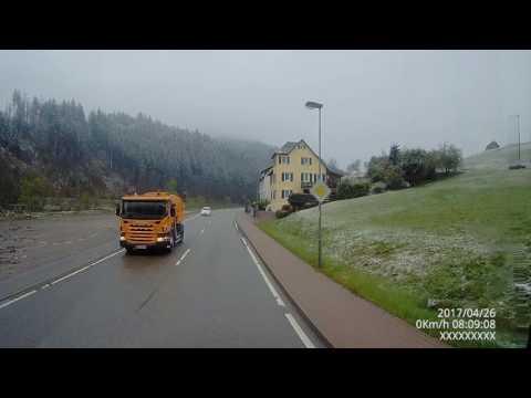 Путешествие по чёрному лесу/ Schwarzwald /лес,горы,природа,снег. Германии.Часть 1. (видео)