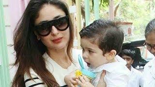 Video Taimur Ali Khan First Day At School With Mommy Kareena Kapoor MP3, 3GP, MP4, WEBM, AVI, FLV Juli 2018