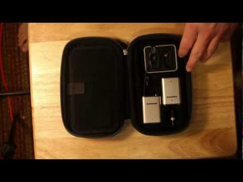 Samson Airline Micro wireless UHF system Review – DSLR FILM NOOB