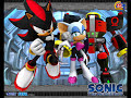 Team Dark's Theme Song from Sonic Heroes. ------------------------ A shadow of myself, just who am I? Scan horizons! A tragic mystery. You could've left me h...