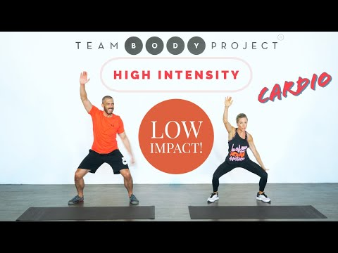Low impact, high intensity, NO equipment - cardio workout