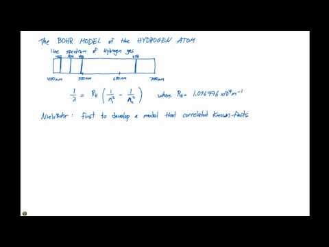 6.3 The Bohr Model of the Hydrogen Atom Part 1