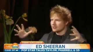 Ed Sheeran - Australian TV Interview - New Album X 07/04/14