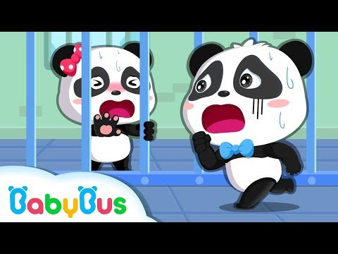 Colored Monsters Catch Baby Panda | Math Kingdom Adventure Episode 1-10 | BabyBus Cartoon