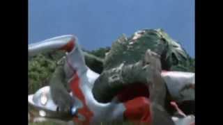 Ultraman vs Ragon