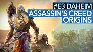 Assassin's Creed: Origins angespielt - Mehr Witcher 3 als Ubisoft-Formel