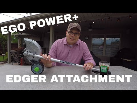 EGO POWER+ Multi-Head System Edger Attachment (видео)