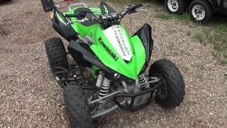 6. 2008 Kawasaki KFX450R Video Walkaround