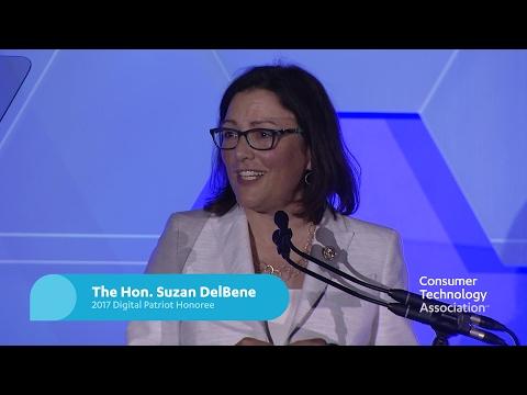 Rep. Suzan DelBene Speaks at the Digital Patriots Dinner