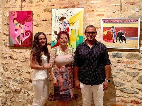 Inauguración de la XXXV Exposición de Pinturas Pinceladas de Colores