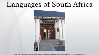 South Africa has eleven official languages: Afrikaans, English, Ndebele, Northern Sotho, Sotho, Swazi, Tswana, Tsonga, Venda, Xhosa and Zulu. Fewer than two ...